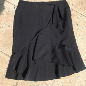 Plus skirt 16 NWT worthington ruffles